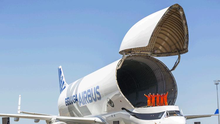 Airbus Beluga XL aperto