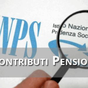 Contributi Pensione