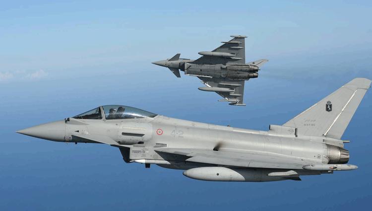 Eurofighter, ancora un altro Scramble.