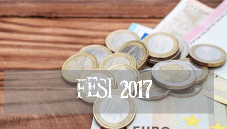 Fesi 2017, tabella importi e pagamento previsto ad Agosto