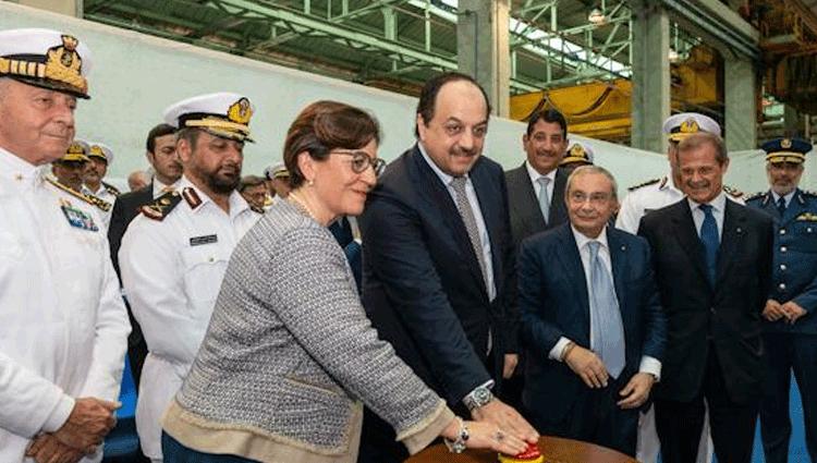 Fincantieri inizia la produzione delle navi ordinate dal Qatar