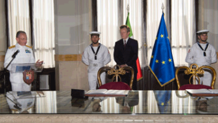 Accordo Marina e Agenzila Saziale Italiana