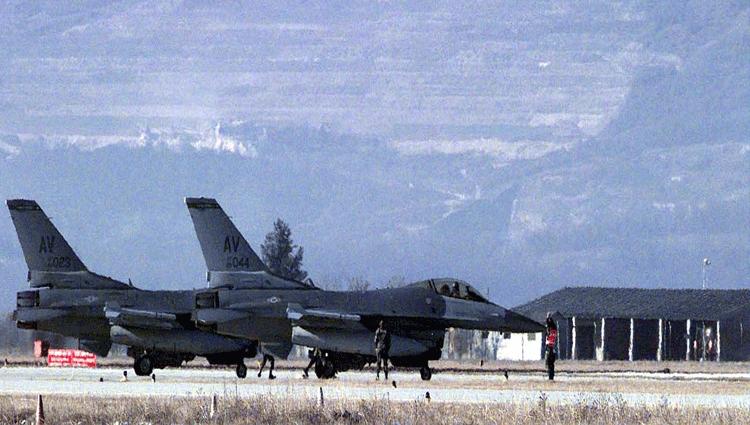 Esercitazioni notturne della base USAF di Aviano tra luglio e agosto