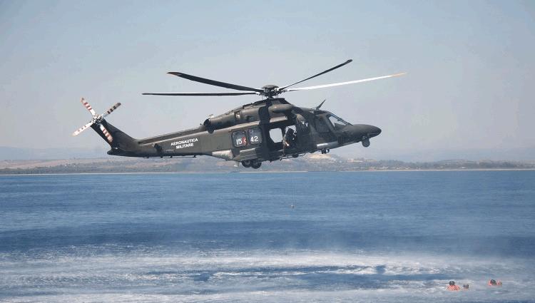 Aeronautica Militare, addestramento di sopravvivenza in mare