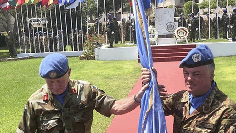 Il Generale Del Col assume il comando della missione UNIFIL