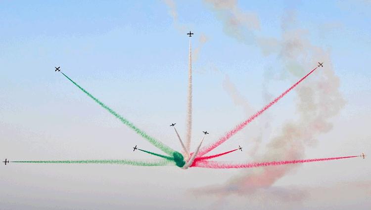 Le esibizioni delle Frecce Tricolori per l'estate 2018