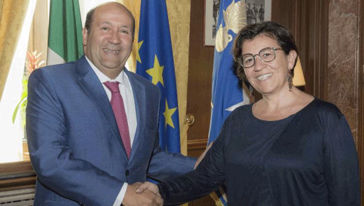 Il Ministro della Difesa riceve l'ambasciatore Egiziano