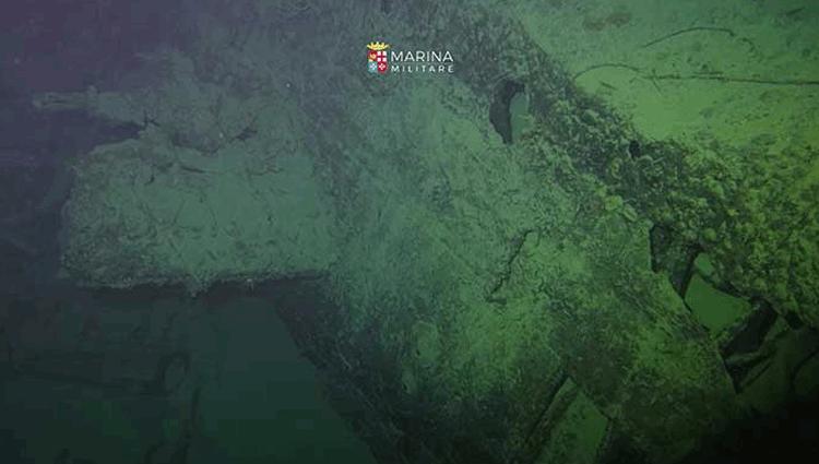 Marina, il sommergibile Guglielmotti ritrovato dopo 100 anni