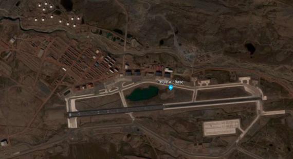 Base Aerea USA Thulein Groenlandia