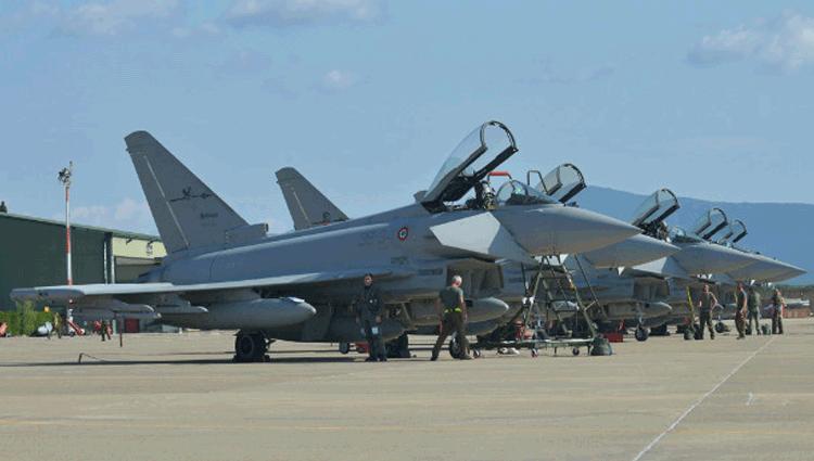 L'Aeronautica Militare parte per l'Operazione Nato Northern Stork