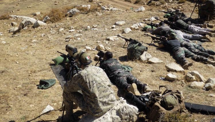 Concluso l'addestramento delle Forze Speciali Libanesi