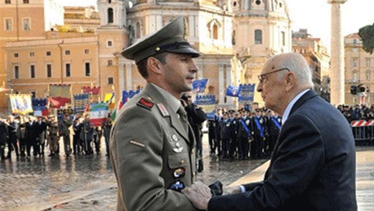 Andrea Adorno: Medaglia d'Oro al Valor Militare
