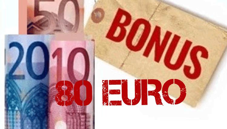 Bonus 80 euro in busta paga, vediamo quando arriva