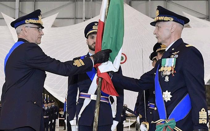 Cambio Comando Capo di Stato Maggiore Aeronautica - Genarale Rosso e Generale Vecciarelli
