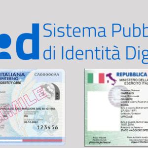 Sistema di identità digitale, carta di identità elettronica e modello ATe