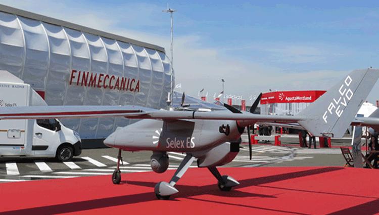 Frontex, Sorveglianza aerea con un drone Leonardo
