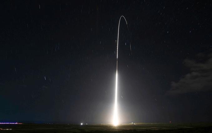 Intercettazione Balistica missile USA