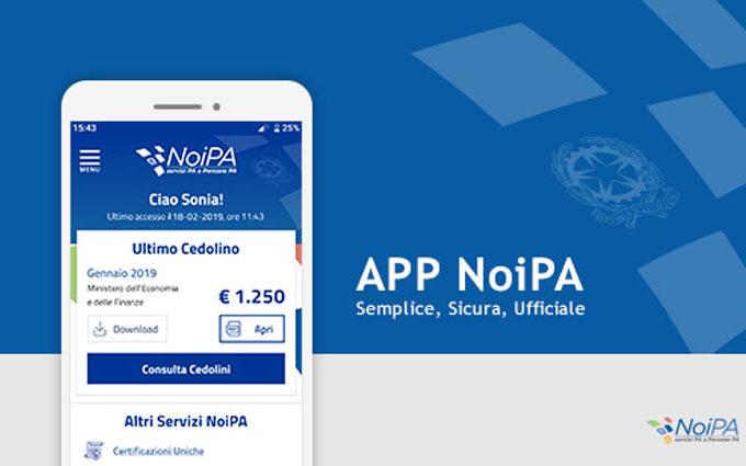 Nuova App Ufficiale Noipa