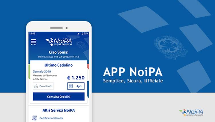 NoiPa rilascia l'applicazione ufficiale