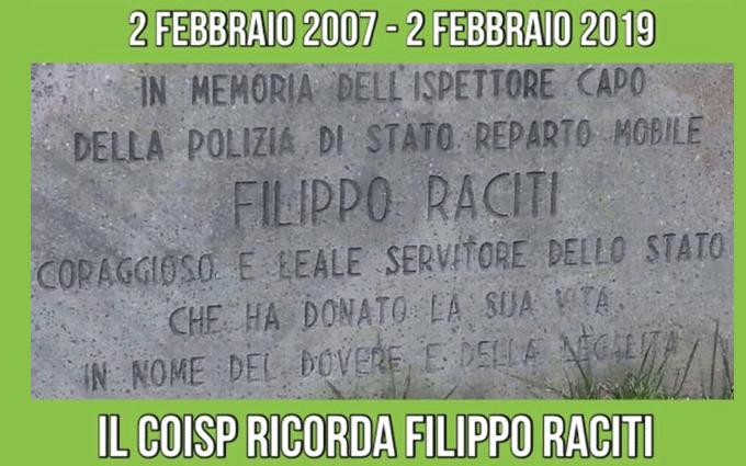 In memoria di Filippo Raciti COISP