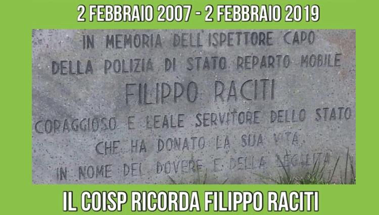 Il COISP Ricorda Filippo Raciti