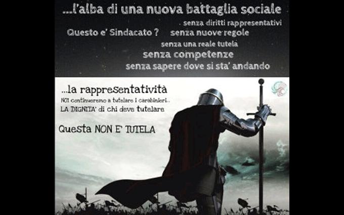 Lettera aperta cobar carabinieri su sindaco militare.