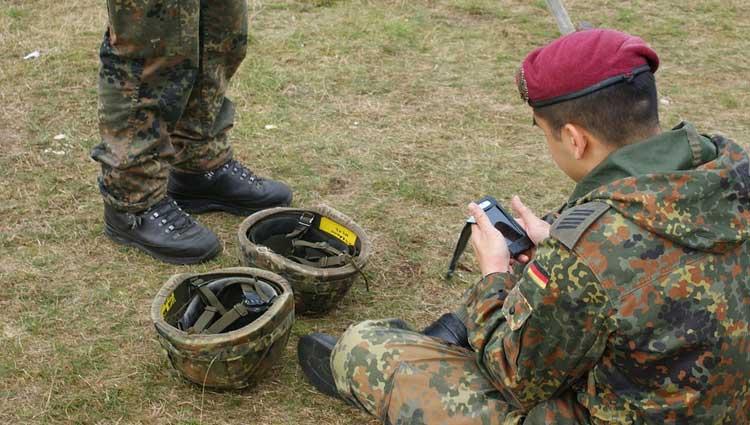 Germania, Notizia di uno scandalo nelle Forze Armate