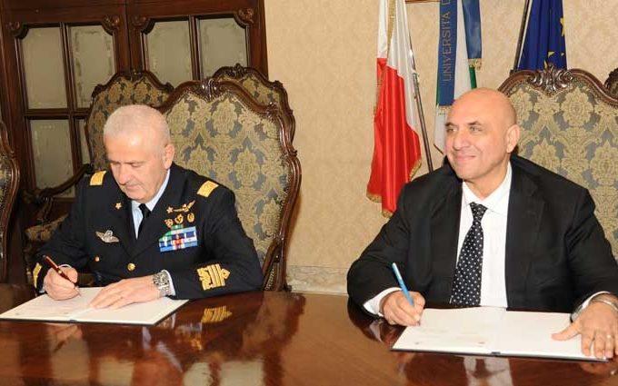 accordo università bari e Aeronautica militare