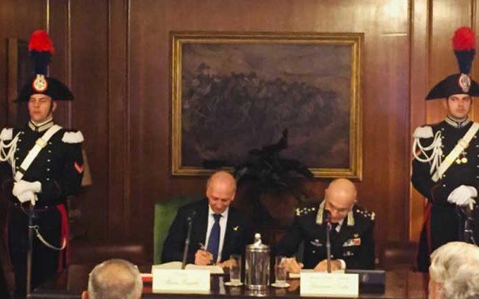 Arma Carabinieri e Miur firmano protocollo sulla cultura della legalità