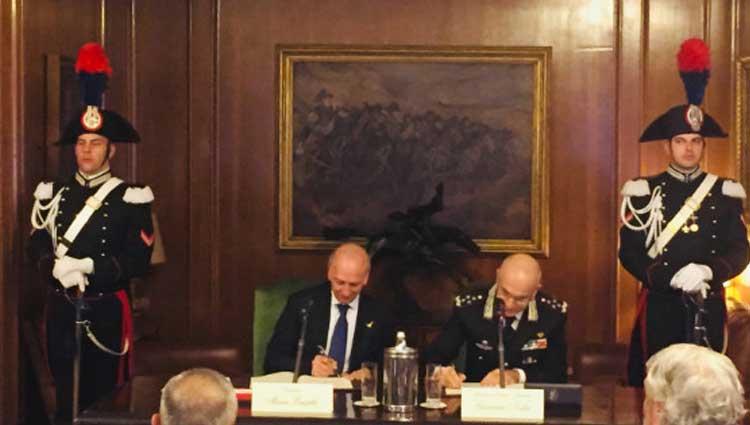 Arma dei Carabinieri e il MIUR insieme per la legalità