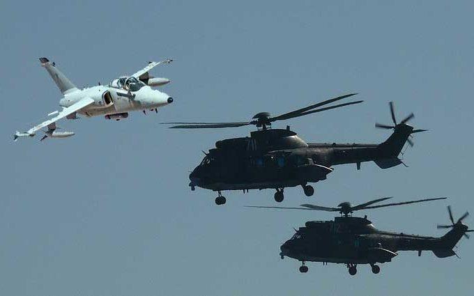 Esercitazione congiunta aeronautica esercito