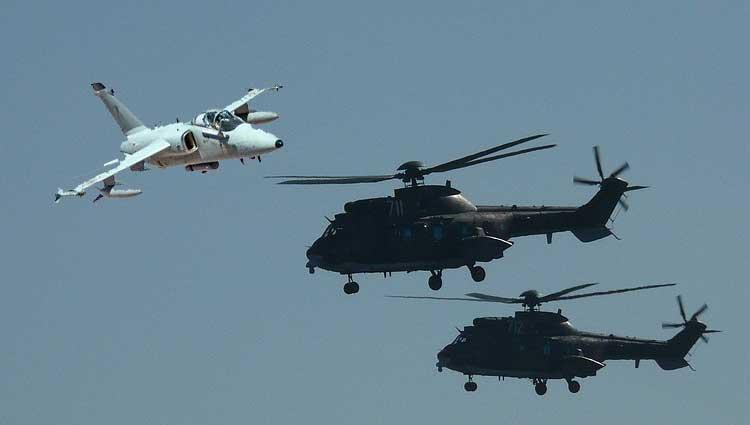 Conclusa con successo l'esercitazione congiunta tra Aeronautica ed Esercito
