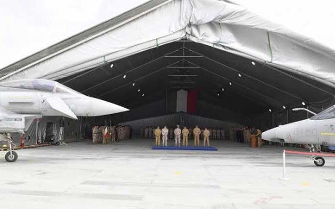 Missione Iraq Cambio tra AMX e Efa