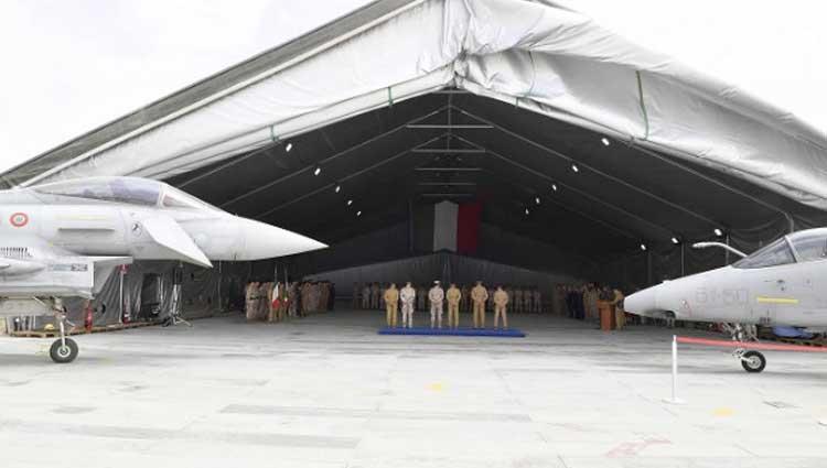 Missione Iraq, i velivoli EFA danno il cambio agli AMX