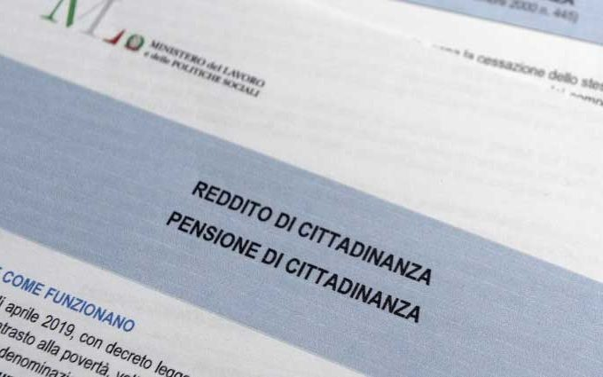 Reddito di cittadinanza e pensione, inps