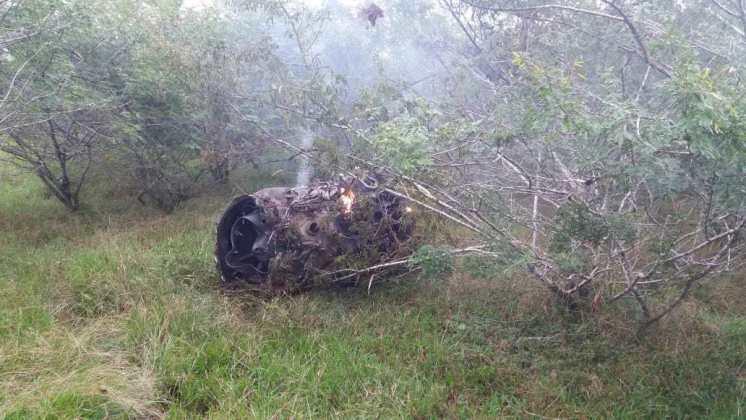 Motore velivolo amx caduto in brasile