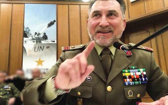 Luogotentente Fico Pasquale Cocer, in audizione al Ministero della Difesa