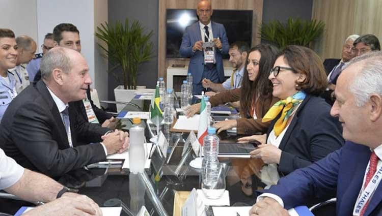 Il Ministro Trenta in Brasile per l'export italiano
