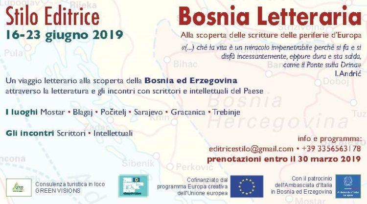 Bosnia Letteraria, locandina